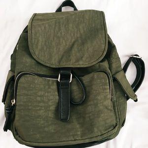 JustFab Zaid Canvas Backpack